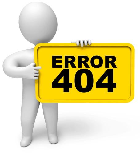 error 404 site